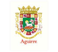 Aguirre Shield of Puerto Rico Art Print