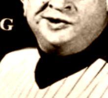 """Rodney Dangerfield Mets Opening Day 1986 """"A Little Respect"""" Sticker"""