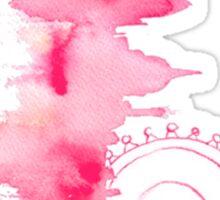 Watercolor Skyline Sticker