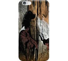 The Little Old Hunter searching for caves iPhone Case/Skin