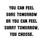 Sore Or Sorry by AmazingMart