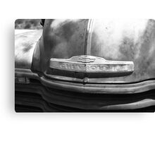 Route 66 - Old Rusty Chevy Canvas Print