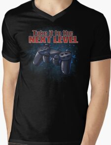 Take It To The Next Level Mens V-Neck T-Shirt