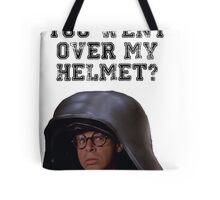 Spaceballs Dark Helmet Tote Bag