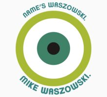 Monsters Inc. - Mike Waszowski (Minimal) Kids Tee