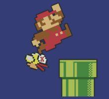 Mario vs. Flappy Bird by cjohn4043