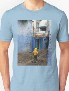 Atlas Travel Desert Caravan 6 village t shirt Unisex T-Shirt