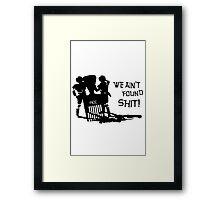 Comb the Desert Framed Print