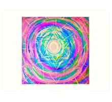 Heavenly Stargate Art Print