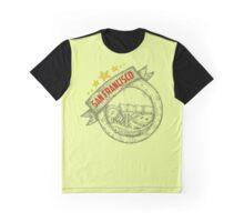 San Francisco, california badge hand draw Graphic T-Shirt
