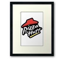 Pizza the Hutt Framed Print