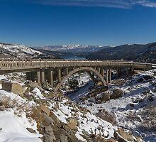 Donner Memorial Bridge (Rainbow Bridge) by Richard Thelen