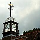 Station Clock, Wolferton Norfolk. by Billlee