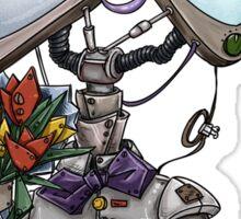 Robot Valentine Sticker
