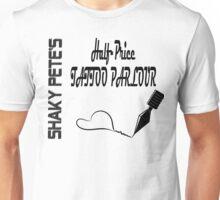 Shaky Pete's Tattoo Parlor Unisex T-Shirt