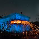 Bunker Light Painting by Kath Salier