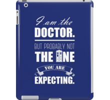 Not the Doctor Who iPad Case/Skin