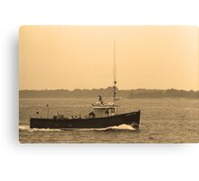 Fishing Boat, Portland, Maine Canvas Print
