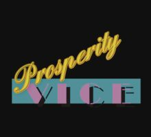 Prosperity Vice Tee - BLACK by kevinferere