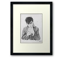 Snap Out Of It Framed Print