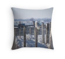 Project SNOWstorm Throw Pillow