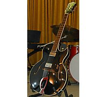 Guild Electric Guitar Photographic Print