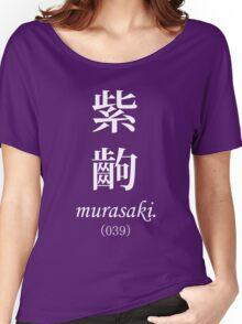 Monogatari Purple Scene, Murasaki Women's Relaxed Fit T-Shirt
