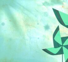 pinwheel dreams Sticker