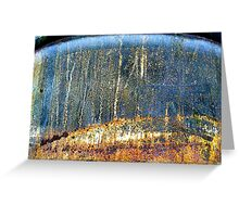A CLOSER NY - METAL FOREST Greeting Card