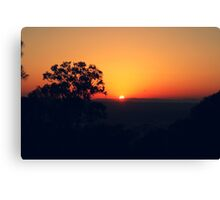 Hello Saturday Sun :-) Canvas Print