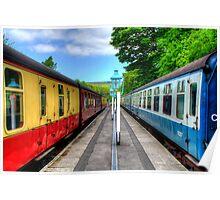 Grosmont Railway Station - North Yorkshire Poster