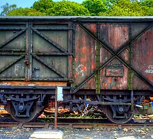 Railway Carriage by Stephen Smith