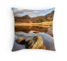 Blea Tarn - Lake District Throw Pillow