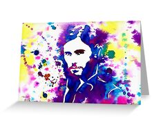 Splash- J.L ( 30 Seconds To Mars) Greeting Card