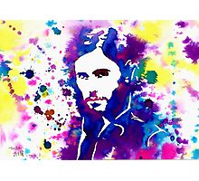 Splash- J.L ( 30 Seconds To Mars) Photographic Print