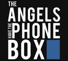 The Angels Have the Phone Box - Doctor Who T-Shirt by fandomshop
