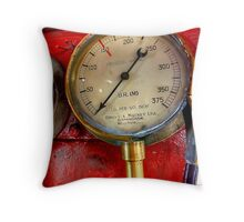 Pressure Gauge Throw Pillow