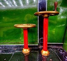 Steam Engine Wheels by Stephen Smith