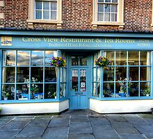 Cross View Restaurant and  Tea Rooms by English Landscape Prints