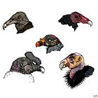 New World Vultures by Emi Brown
