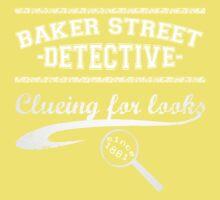 Baker Street Detective (White) Kids Clothes