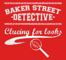 Baker Street Detective (White) One Piece - Long Sleeve