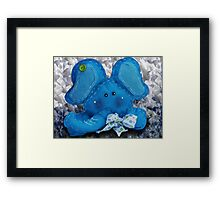 ©HS The Blue One Please Framed Print