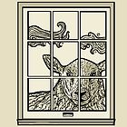 Sheep in the Window by Emi Brown