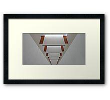 Ceiling Panels Framed Print