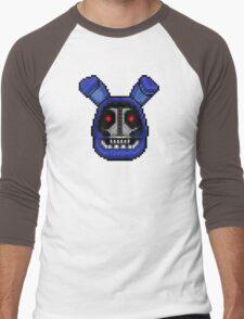 Adventure Withered Bonnie - FNAF World - Pixel Art Men's Baseball ¾ T-Shirt