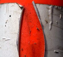 A CLOSER NY - ORANGE CONE by Sherry Mills