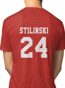 Stilinski 24, Stiles stilinski - White Tri-blend T-Shirt