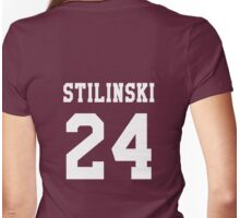 Stilinski 24, Stiles stilinski - White Womens Fitted T-Shirt