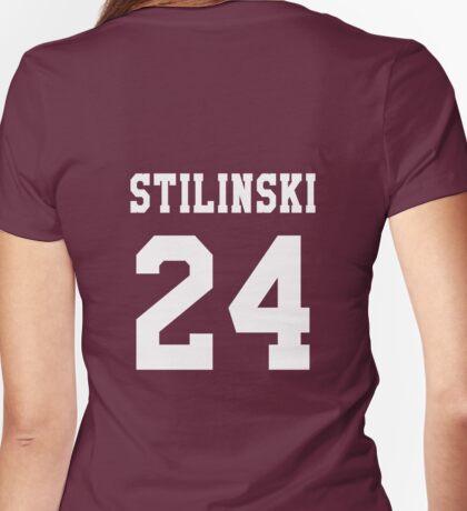 Stilinski 24, Stiles stilinski - White Womens Fitted T-Shirt